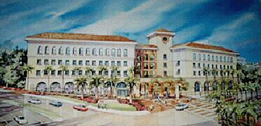 architect's drawing of CSL building