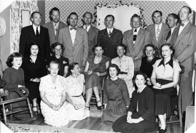 1948 Christmas Party photo